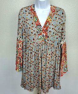 Umgee | Floral Bohemian Style Dress